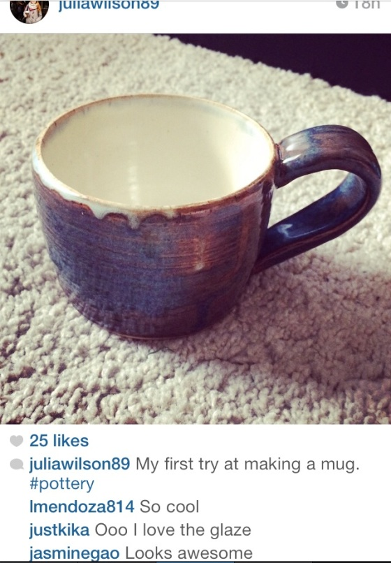 My mug on instagram, looking good!