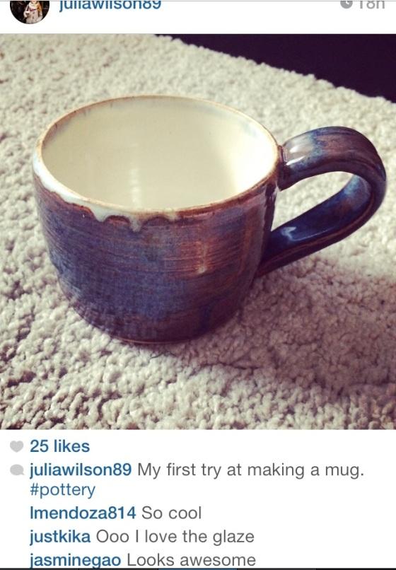 My mug on instagram, looking good!